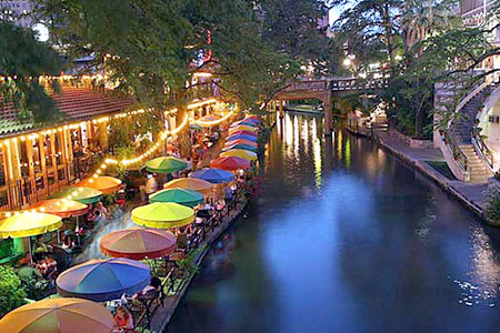San Antonio Riverwalk Photo: mcclouds, used under Creative Commons License (By 2.0)