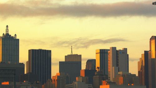 Dallas @ Sunset. Photo: Arnob1_1998, used under Creative Commons License (By 2.0)