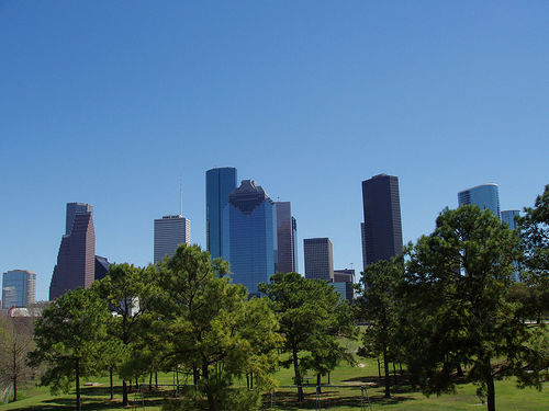 Houston Skyline Photo: little black spot on the sun today, used under Creative Commons License (By 2.0)