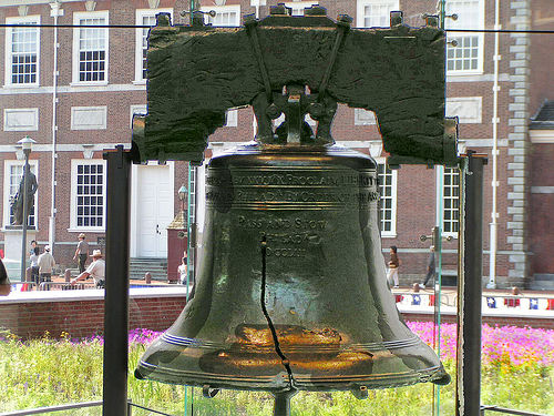 Liberty Bell Photo: basyke, used under Creative Commons License (By 2.0)