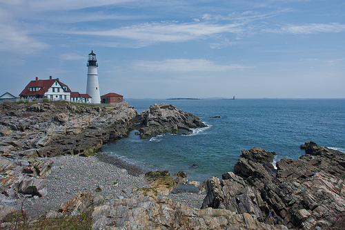 Portland Head Lighthouse, Maine Photo: Pat Spinney, used under Creative Commons License (By 2.0)