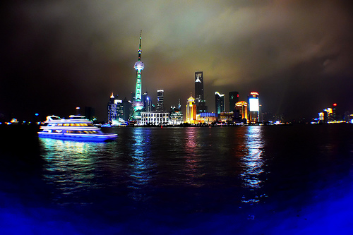 View of Pudong from the Bund. Photo: seto_supraenergy, used under Creative Commons License (By 2.0)