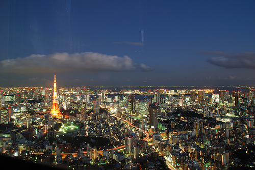 View of Tokyo Tower, Tokyo, Japan Photo: apple 94, used under Creative Commons License (By 2.0)