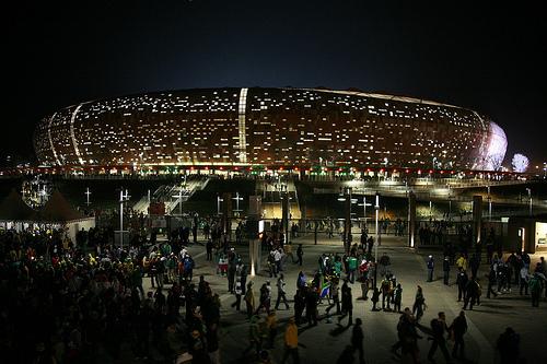Soccer City Stadium - Johannesburg. Photo: babasteve, used under Creative Commons License (By 2.0)