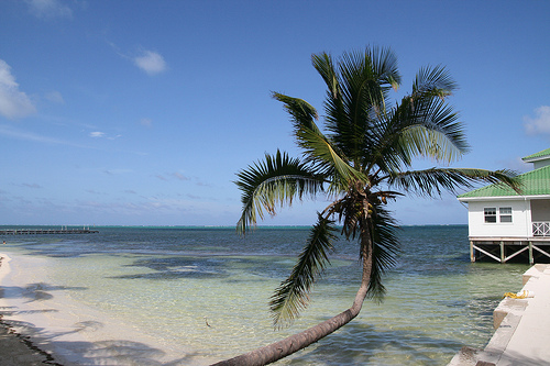 Ambergris Caye, Belize. Photo: Bernt Rostad, used under Creative Commons License (By 2.0)