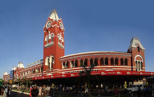 Chennai Central Station. Photo: PlaneMad, used under Creative Commons License (By 2.0)