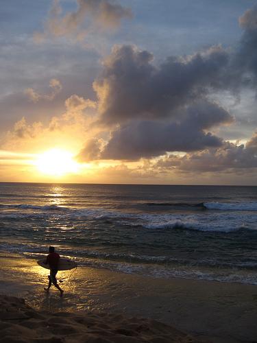 Sunset Beach, Oahu, Hawaii. Photo: eliduke, used under Creative Commons License (By 2.0)