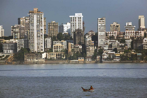 Mumbai, India. Photo: babasteve, used under Creative Commons License (By 2.0)