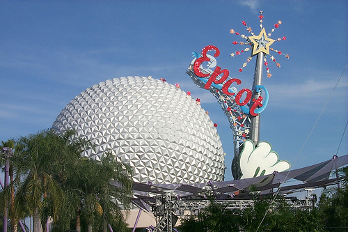 Disney Epcot, Orlando. Photo: Paul Mannix, used under Creative Commons License (By 2.0)