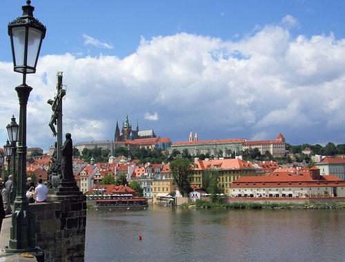 Prague Castle from The Charles Bridge, Prague, Czech Republic. Photo: Jim Linwood, used under Creative Commons License (By 2.0)