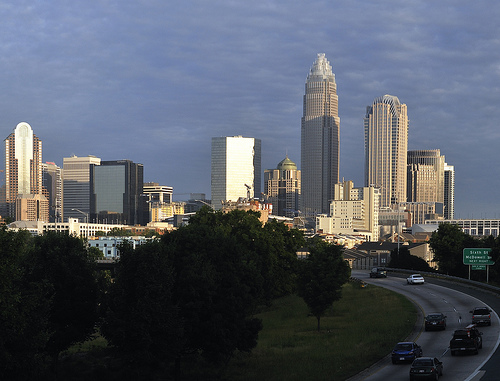 Charlotte Skyline Photo: chascow, used under Creative Commons License (By 2.0)