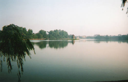 Ho Hoan Kiem Lake, Hanoi, Vietnam Photo: geraldford, used under Creative Commons License (By 2.0)