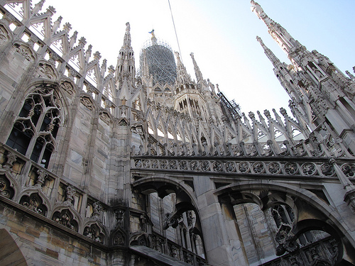 Milan Duomo Photo: Friar's Balsam, used under Creative Commons License (By 2.0)