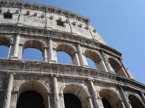 The Colosseum, Rome, Italy - Photo: ryarwood, used under Creative Commons License (By 2.0)