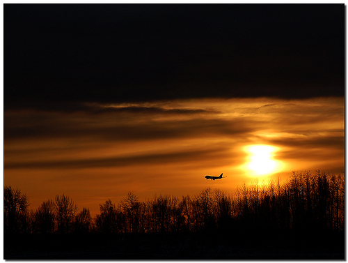 Anchorage Sunset. Photo: BobButcher, used under Creative Commons License (By 2.0)