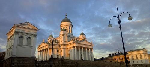 Helsinki Catherdal Photo: Debarshi Ray, used under Creative Commons License (By 2.0)