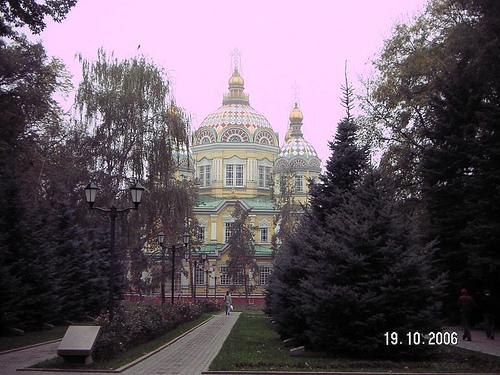 Zenkov Catherdal, Panfilov Park, Almaty, Kazakhstan Photo: culater251, used under Creative Commons License (By 2.0)