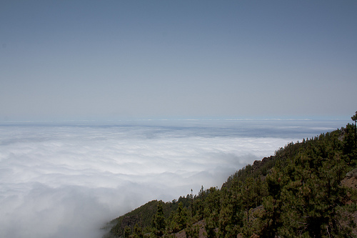 Above the Clouds, Tenerife, Canary Islands Photo: Kent Wang, used under Creative Commons License (By 2.0)
