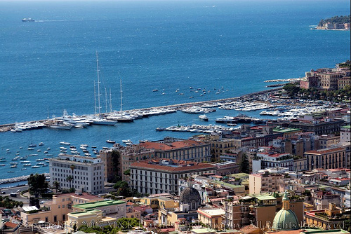 Naples, Italy. Photo: BellaBim, used under Creative Commons License (By 2.0)