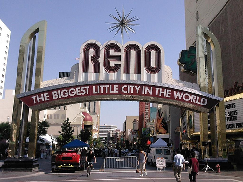 Reno, Nevada Photo: jcantroot, used under Creative Commons License (By 2.0)
