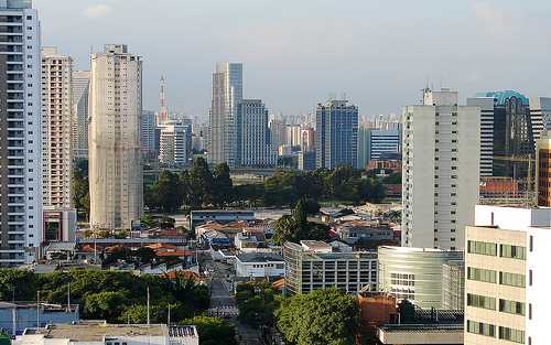 Sao Paulo Skyline Photo: Diego3336, used under Creative Commons License (By 2.0)