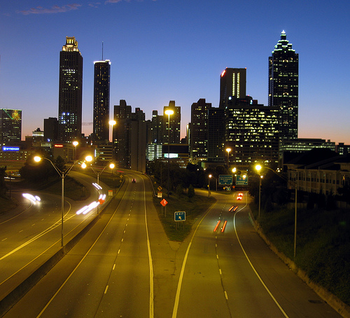 Atlanta Skyline. Photo: k1ng, used under Creative Commons License (By 2.0)