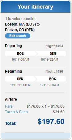 Best time to book flights on jetblue