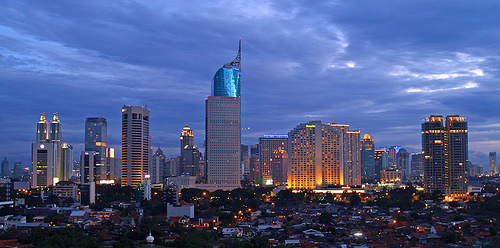 Jakarta Skyline Photo: yohanes budiyanto, used under Creative Commons License (By 2.0)