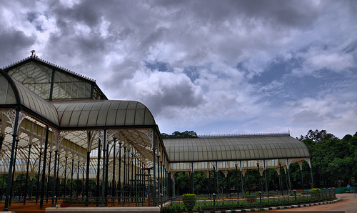 Glass house, Lalbagh, Bangalore - Photo: prasanthmj, used under Creative Commons License (By 2.0)