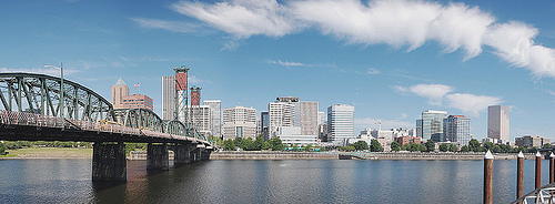 Portland Skyline - Photo: Si1very, used under Creative Commons License (By 2.0)