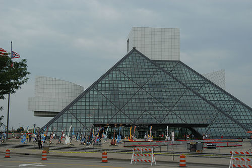 The Rock and Roll Hall of Fame, Cleveland, Ohio - Photo: adpowers, used under Creative Commons License (By 2.0)