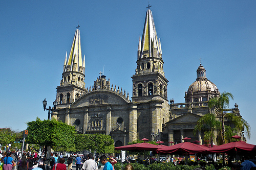 Catedral de Guadalajara - Photo: bryce_edwards, used under Creative Commons License (By 2.0)