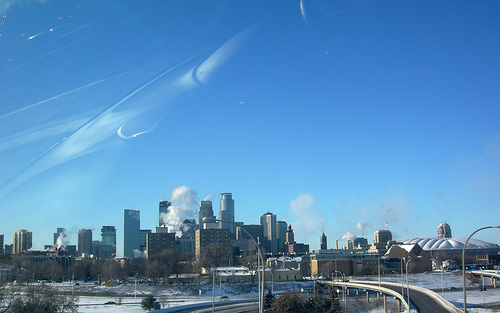 Minneapolis Skyline Photo: IrishFireside, used under Creative Commons License (By 2.0)
