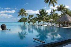 Four Seasons Resort Maldives at Landaa Giraavaru. Image from Four Seasons website