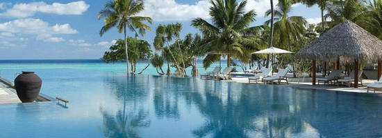 Four Seasons Resort Maldives at Landaa Giraavaru. Image from Four Seasons website