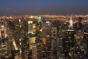 New York at Night - Photo: melbow, used under Creative Commons License (By 2.0)