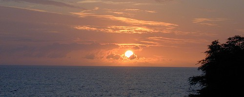 Kona Sunset. Photo: chadh, used under Creative Commons License (By 2.0)