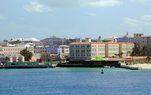 View o Nassau, Harbor. Photo:roger4336, used under Creative Commons License (By 2.0)