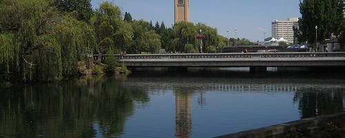 Park Downton @ Spokane, Washington - Photo: David Chartier, used under Creative Commons License (By 2.0)