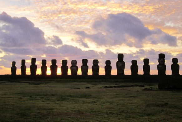 Easter Island, Chile. (c) 2011 The Fight Deal