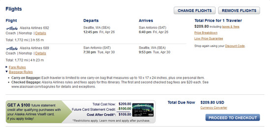The Flight Deal Airfare Deal Alaska Air Seattle San