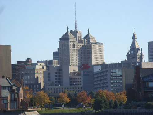 Buffalo, New York - Photo: Dougtone, used under Creative Commons License (By 2.0)