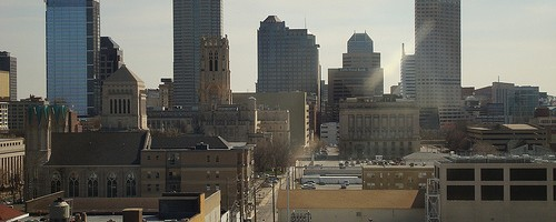 Indianapolis Skyline, Indianapolis, Indiana Photo: bnpositive, used under Creative Commons License (By 2.0)