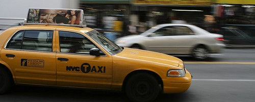 NYC Taxi - Photo: Marvin Kuo, used under Creative Commons License (By 2.0)