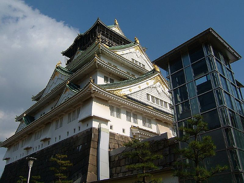 Osaka Castle, Osaka, Japan - Photo: daymin, used under Creative Commons License (By 2.0)