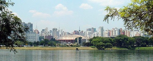 Skyline, Sao Paulo, Brazil. Photo: Diego3336, used under Creative Commons License (By 2.0)