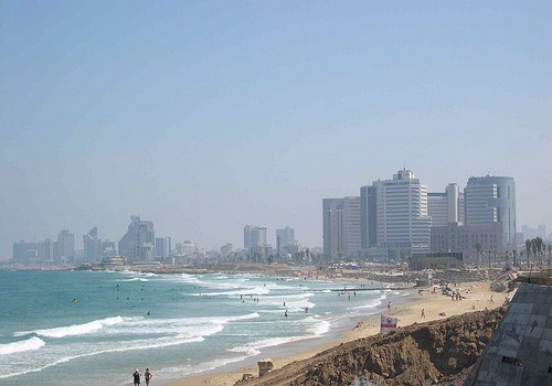 View of Tel Aviv, Israel from Jaffa, Israel - Photo: upyernoz, used under Creative Commons License (By 2.0)