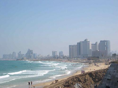 View of Tel Aviv, Israel from Jaffa, Israel - Photo: upyernoz, used