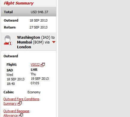 The Flight Deal | Airfare Deal – Virgin Atlantic: Washington