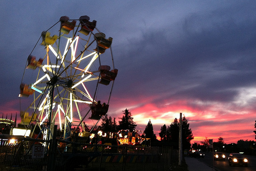 County Fair, Fresno, California. Photo: John-Morgan, used under Creative Commons License (By 2.0)